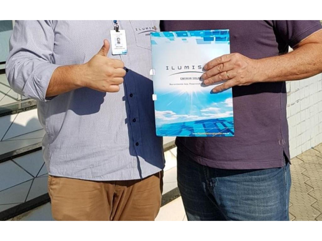 Ilumisol confirma franquia para o município de Mafra – SC