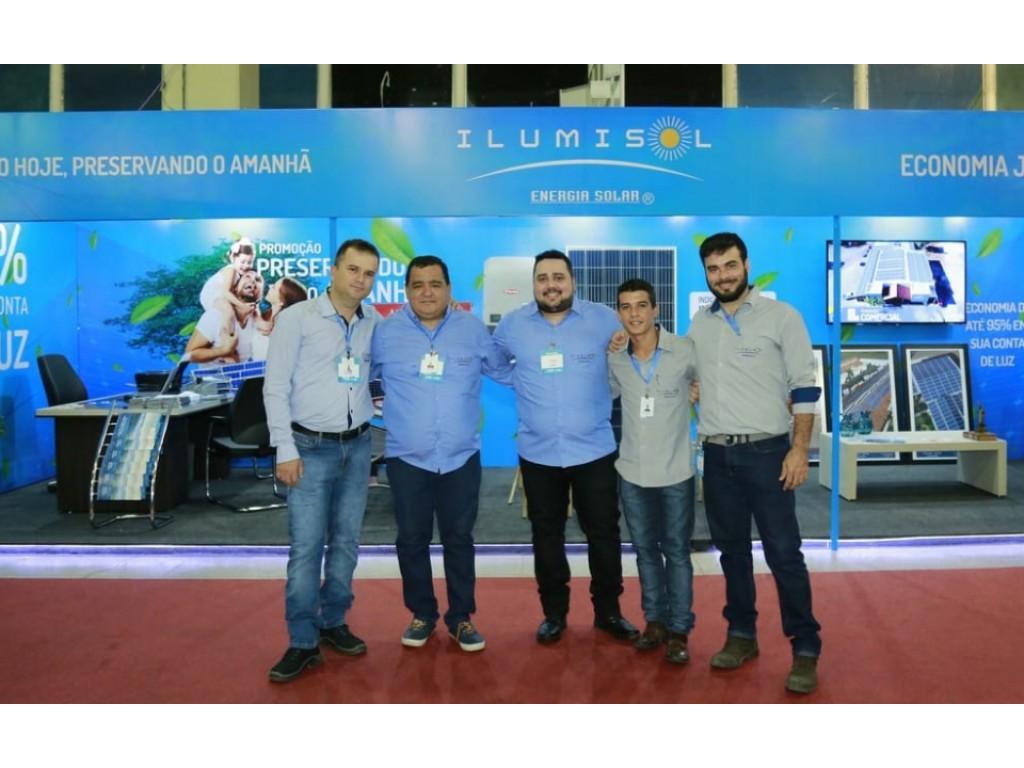 Unidade Ilumisol de Maranhão está participando da 18ª Fecoimp