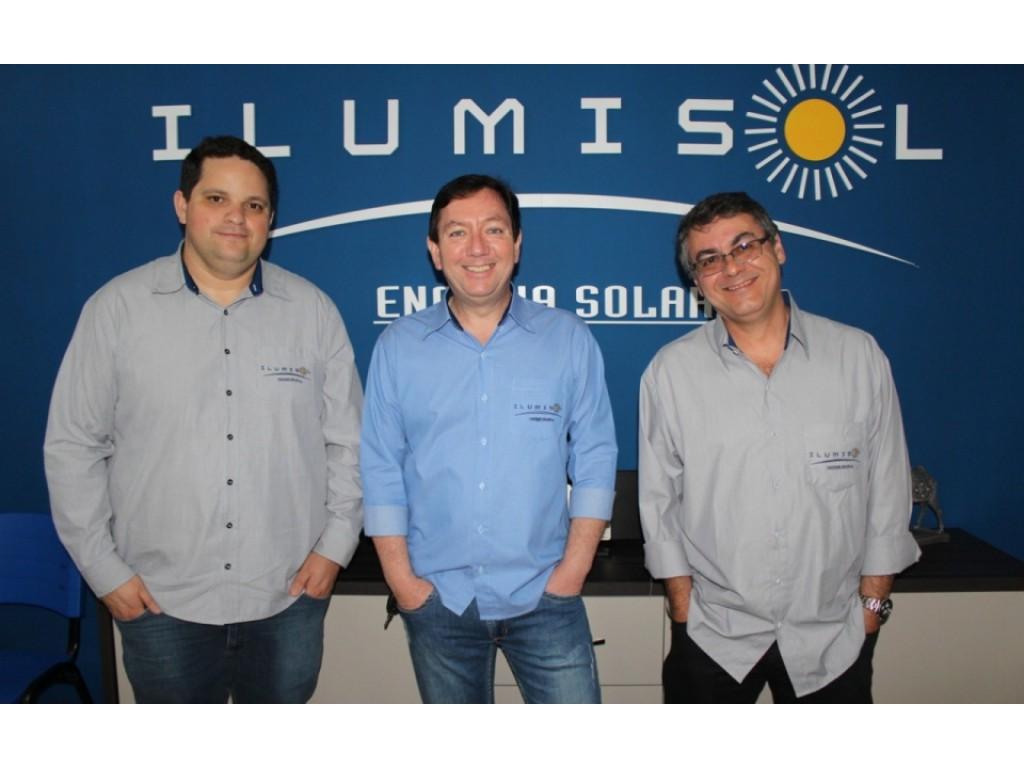 Inaugura a unidade da Ilumisol em Santo André/SP