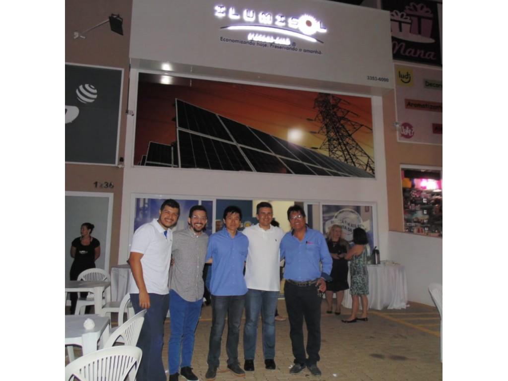 Inauguração Ilumisol Energia Solar em São José do Rio Preto/SP