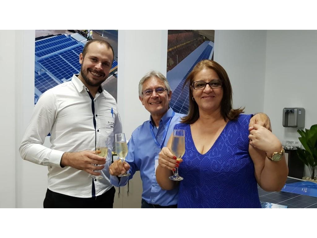 Ilumisol Energia Solar inaugura unidade em Taubaté/SP