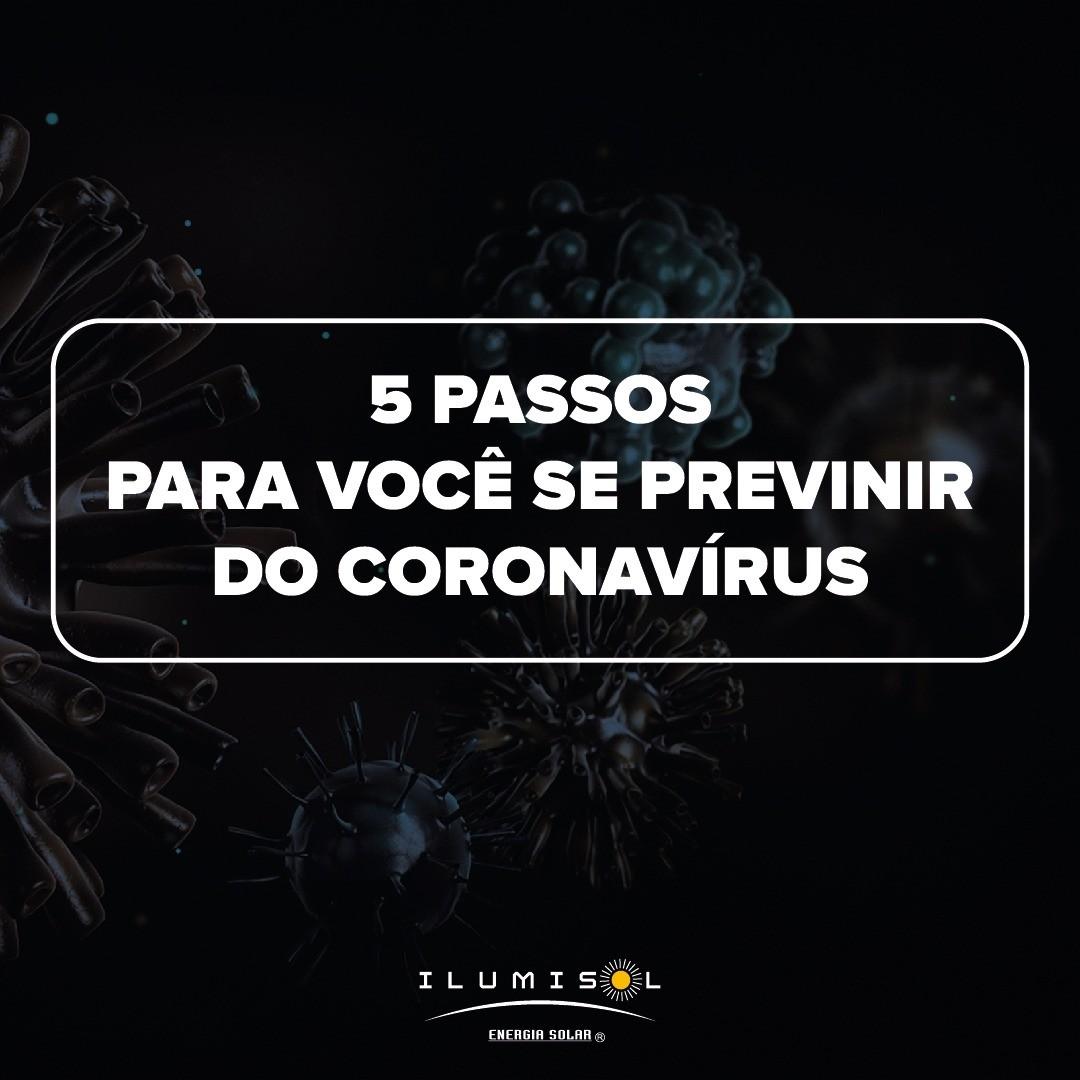 A ILUMISOL SE PREOCUPA COM VOCÊ E MOSTRA 5 DICAS DE COMO SE PREVINIR DO COVID-19
