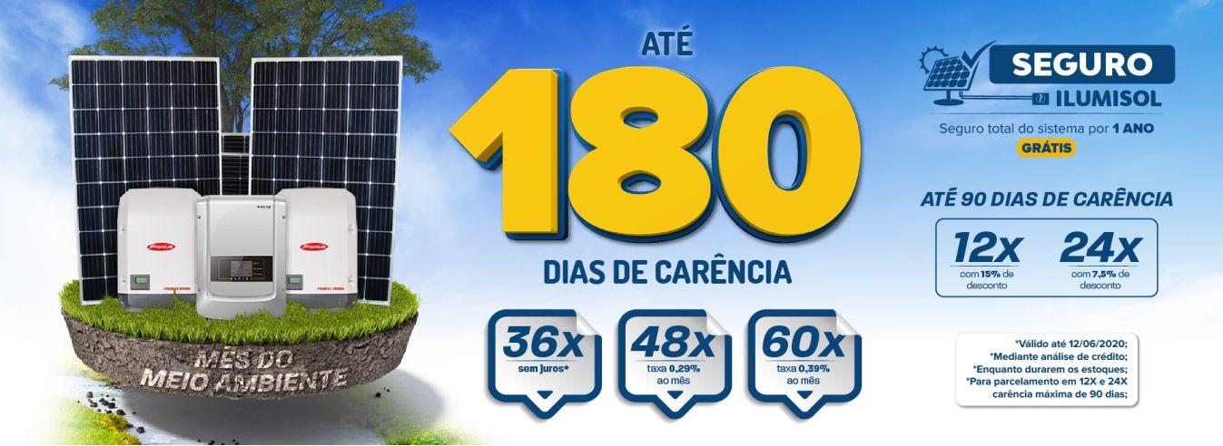 Campanha 180 dias + seguro - Mês do meio ambiente