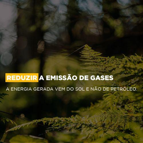 Reduzir a emissão de gases