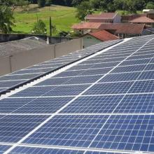 ENERGIA SOLAR COMERCIAL 24,32 KWP 64 MÓDULOS BENEDITO NOVO SC