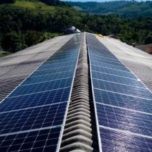 Energia Solar Rural 28,52 kWp 92 módulos Palmitinho RS