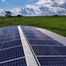 ENERGIA SOLAR RURAL 10 KWP 28 MÓDULOS AÇAILÂNDIA MARANHÃO