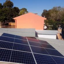 ENERGIA SOLAR RESIDENCIAL 2,84 KWP 8 MÓDULOS SOLEDADE RS
