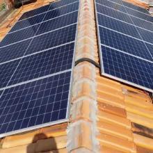 ENERGIA SOLAR RURAL 4,32 KWP 12 MÓDULOS AÇAILÂNDIA MARANHÃO