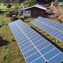 ENERGIA SOLAR RURAL 24,75 KWP 75 MÓDULOS SÃO CARLOS SC