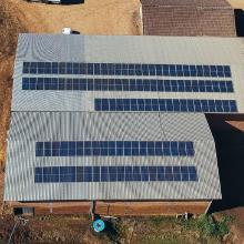ENERGIA SOLAR RURAL 43,20 KWP 120 MÓDULOS RIO FORTUNA SC