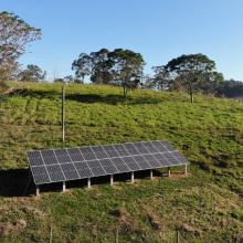 Energia Solar Rural 9,36 kWp 26 módulos Treze de Maio SC