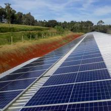 ENERGIA SOLAR RURAL 36,72 KWP 102 MÓDULOS PR