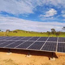 ENERGIA SOLAR RURAL 13,56 KWP 33 MÓDULOS CIDELÂNDIA MARANHÃO