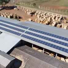 ENERGIA SOLAR INDUSTRIAL 44,28 KWP 123 MÓDULOS GUARAPUAVA PR
