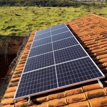 ENERGIA SOLAR RESIDENCIAL 2,04 KWP 6 MÓDULOS PARÁ DE MINAS MG