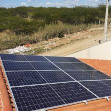 ENERGIA SOLAR RESIDENCIAL 2,72 KWP 8 MÓDULOS CANINDÉ CEARÁ