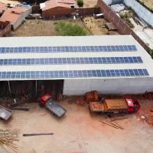 ENERGIA SOLAR COMERCIAL 34,34 KWP 101 MÓDULOS CANINDÉ CEARÁ