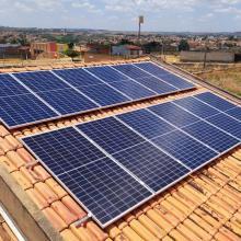 ENERGIA SOLAR RESIDENCIAL 4,38 KWP 12 MÓDULOS AÇAILÂNDIA MA