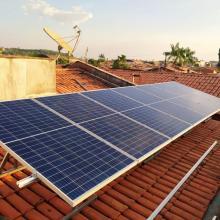 ENERGIA SOLAR RESIDENCIAL 2,38 KWP 7 MÓDULOS AÇAILÂNDIA MA