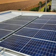 ENERGIA SOLAR RESIDENCIAL 14,58 KWP 36 MÓDULOS CASCAVEL PARANÁ