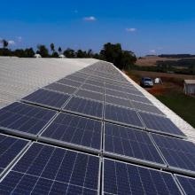 ENERGIA SOLAR RURAL 65,70 KWP 180 MÓDULOS CASCAVEL PARANÁ