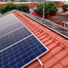ENERGIA SOLAR RESIDENCIAL 3,68 KWP 12 MÓDULOS PALESTINA SP