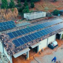 ENERGIA SOLAR RURAL 21,60 KWP 60 MÓDULOS PEDRAS GRANDES SC