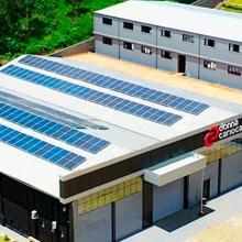 ENERGIA SOLAR INDUSTRIAL 62,77 KWP 155 MÓDULOS NOVA FRIBURGO RJ