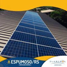 ENERGIA SOLAR COMERCIAL 5,40 KWP 15 MÓDULOS ESPUMOSO RS