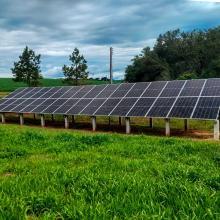 ENERGIA SOLAR RURAL 13,12 KWP 32 MÓDULOS CARAZINHO RS