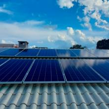 ENERGIA SOLAR RESIDENCIAL 4,62 KWP 14 MÓDULOS CRUZ ALTA RS