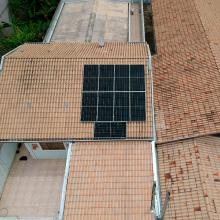 ENERGIA SOLAR RESIDENCIAL 3,69 KWP 9 MÓDULOS TAUBATÉ SÃO PAULO