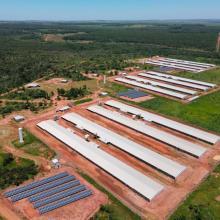 ENERGIA SOLAR RURAL 442,20 KWP 1320 MÓDULOS DOURADOS MS