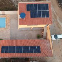 ENERGIA SOLAR RESIDENCIAL 7,37 KWP 22 MÓDULOS VERTENTES PE