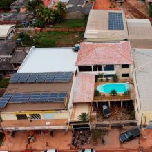 ENERGIA SOLAR COMERCIAL 53,46 KWP 162 MÓDULOS PIMENTA BUENO RO