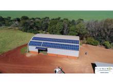 Instalação Rural com 118 módulos em Mamborê/ PR