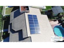 Instalação Residencial com 14 módulos em Vera Cruz do Oeste / PR