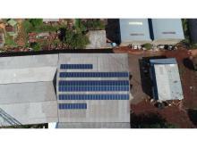 Energia Solar Industrial 39,04 kWp 122 módulos Cascavel Paraná