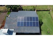 Energia Solar Residencial 3,71 kWp 14 módulos Medianeira Paraná