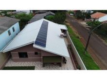 Energia Solar Residencial 3,71 kWp 14 módulos Cascavel Paraná