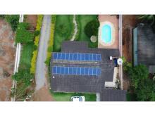 Energia Solar Residencial 7,68 kWp 24 módulos Nova Ubiratã MT