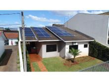 Energia Solar Residencial 6,40 kWp 20 módulos Cascavel Paraná