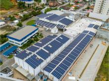 Energia Solar Industrial 562,40 kWp 1520 módulos Camboriú SC