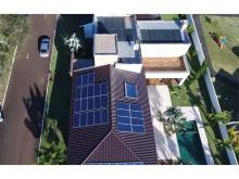 Energia Solar Residencial 89,10 kWp 33 módulos Cascavel Paraná