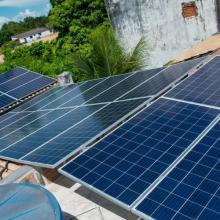 Energia Solar Residencial 7,68 kWp 24 módulos Corumbá MS