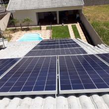 Energia Solar Residencial 4,62 kWp 14 módulos Lucas do Rio Verde