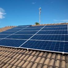 Energia Solar Residencial 5,12 kWp 16 módulos Cuiabá MT