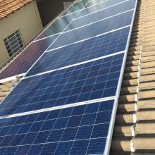 Energia Solar Residencial 6,40 kWp 20 módulos Cuiabá MT