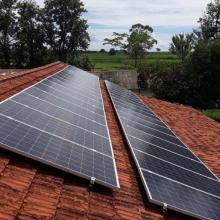 Energia Solar Rural 10,56 kWp 32 módulos Irapuã São Paulo